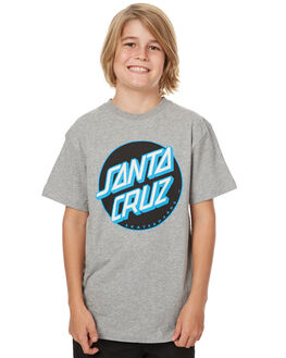 GREY KIDS BOYS SANTA CRUZ TEES - SC-YTNC001GRY