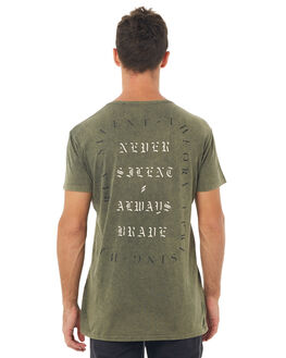 KHAKI MENS CLOTHING SILENT THEORY TEES - 4001011KHAK