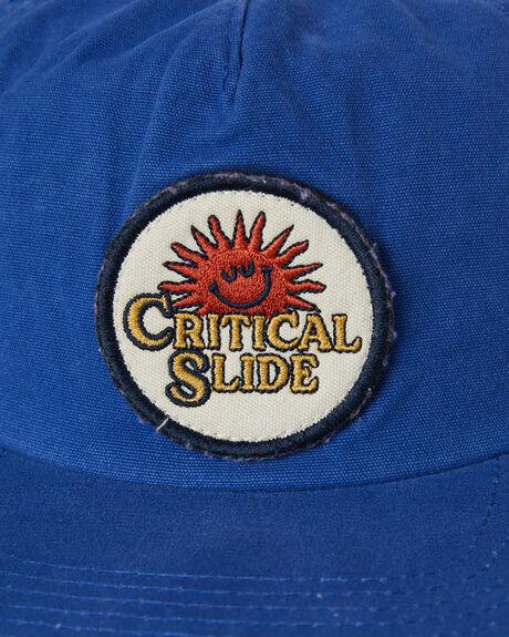 DARK BLUE MENS ACCESSORIES THE CRITICAL SLIDE SOCIETY HEADWEAR - HW2142DRKBL