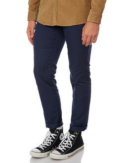 NAVY MENS CLOTHING CARHARTT PANTS - I003367-7702NVY
