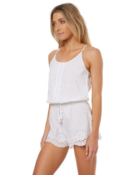 WHITE WOMENS CLOTHING RIP CURL PLAYSUITS + OVERALLS - GDRAA01000