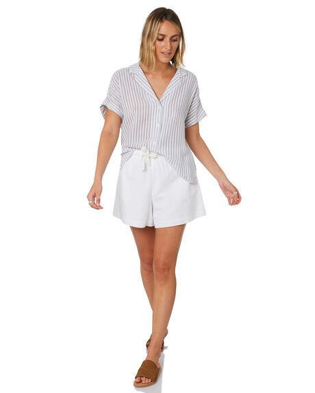 STRIPE WOMENS CLOTHING NUDE LUCY FASHION TOPS - NU23789STP