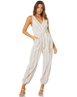NATURAL WOMENS CLOTHING TIGERLILY PLAYSUITS + OVERALLS - T305412NAT