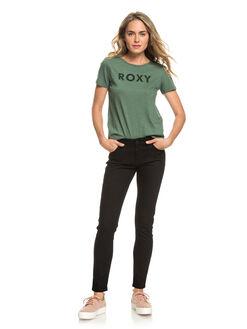 DUCK GREEN WOMENS CLOTHING ROXY TEES - ERJZT04512-GPL0