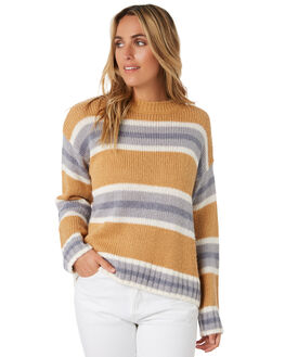 APPLE CINNAMON WOMENS CLOTHING RIP CURL KNITS + CARDIGANS - GSWFO43806