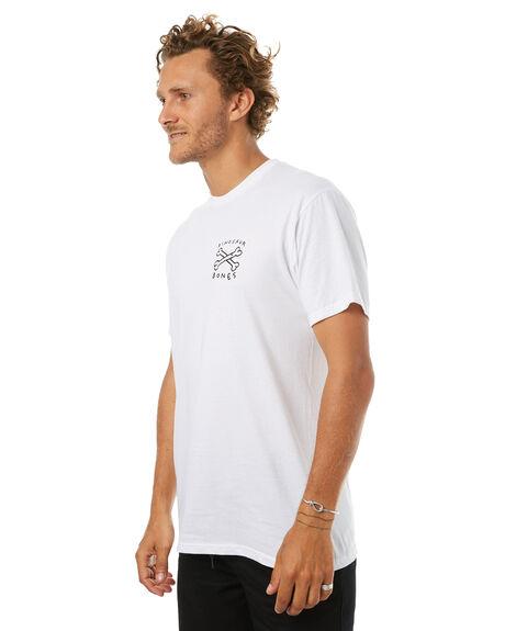 WHITE MENS CLOTHING VOLCOM TEES - A504177GWHT