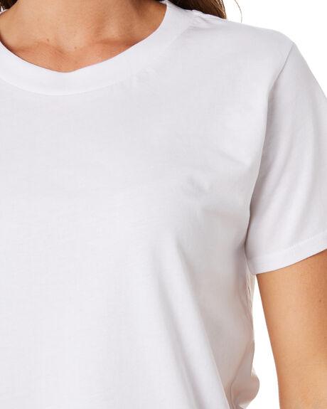 WHITE WOMENS CLOTHING AS COLOUR TEES - 4003WHT