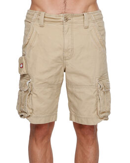 KHAKI MENS CLOTHING ELEMENT SHORTS - EL-193351-KHA