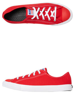 UNIVERSITY RED WOMENS FOOTWEAR CONVERSE SNEAKERS - 566773CURED