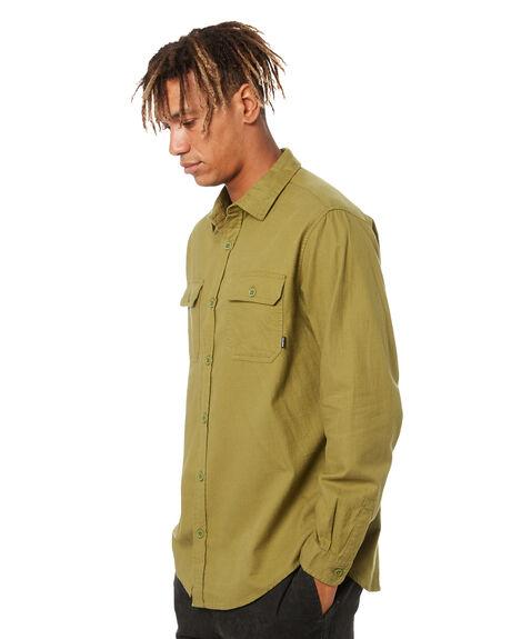 MAYFLY GREEN MENS CLOTHING BURTON SHIRTS - 140531300