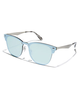 BRUSHED SILVER UNISEX ADULTS RAY-BAN SUNGLASSES - 0RB3576NSILV