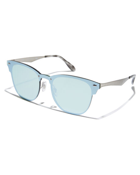 BRUSHED SILVER MENS ACCESSORIES RAY-BAN SUNGLASSES - 0RB3576NSILV