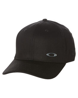 BLACK MENS ACCESSORIES OAKLEY HEADWEAR - 911548001