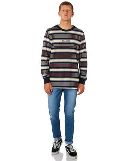 NAVY MENS CLOTHING BILLABONG TEES - 9595176NVY