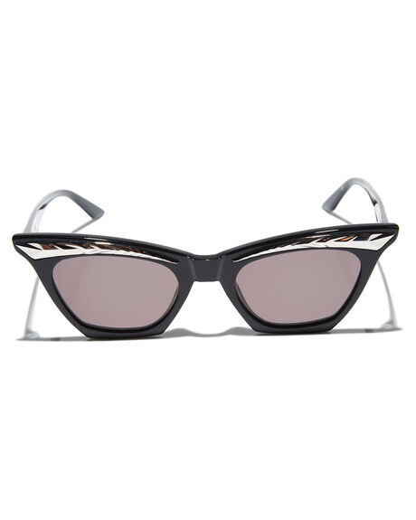 GLOSS BLACK OUTLET WOMENS VALLEY SUNGLASSES - S0428GBLK