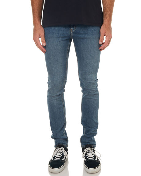 ID BLUE MENS CLOTHING CHEAP MONDAY JEANS - 0490190IDBLU