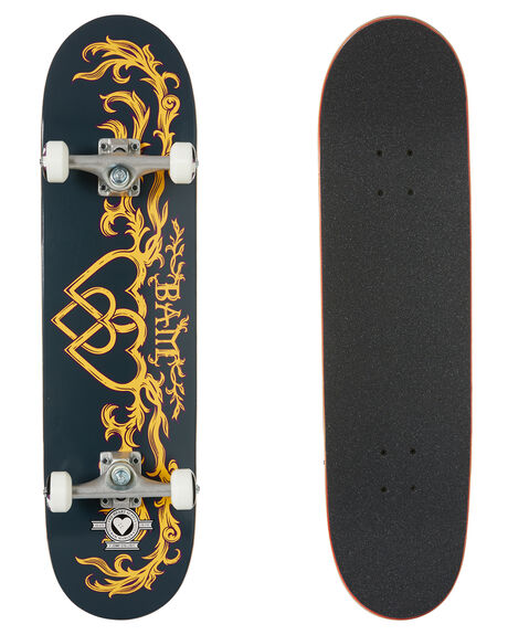 BLUE YELLOW BOARDSPORTS SKATE THE HEART SUPPLY COMPLETES - HS020107400E8000BLYL