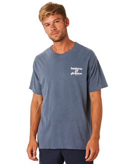 LAURENS NAVY MENS CLOTHING BUSINESS AND PLEASURE CO TEES - BPS-BPC-LAU-NVY