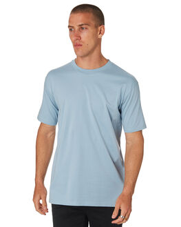 PALE BLUE MENS CLOTHING AS COLOUR TEES - 5026PBLU