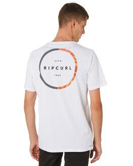 WHITE MENS CLOTHING RIP CURL TEES - CTEPT21000