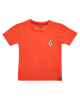 WHY ROCK RED KIDS TODDLER BOYS VOLCOM TOPS - Y4341873WRR