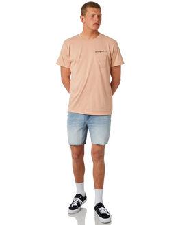BLUSH MENS CLOTHING MOLLUSK TEES - MSS1629BLSH