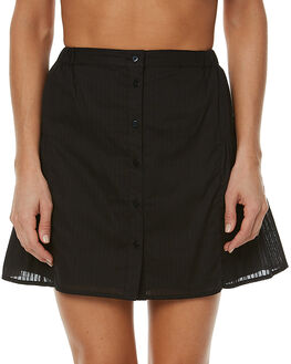 BLACK WOMENS CLOTHING THE FIFTH LABEL SKIRTS - TP170518SKBLK