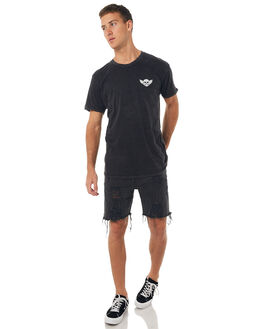 BLACK ACID MENS CLOTHING THE PEOPLE VS TEES - HS17010BACID