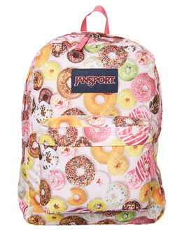 DONUTS WOMENS ACCESSORIES JANSPORT BAGS - JST501DON