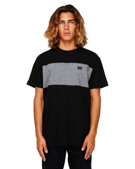 BLACK MENS CLOTHING BILLABONG TEES - BB-9591002-BLK