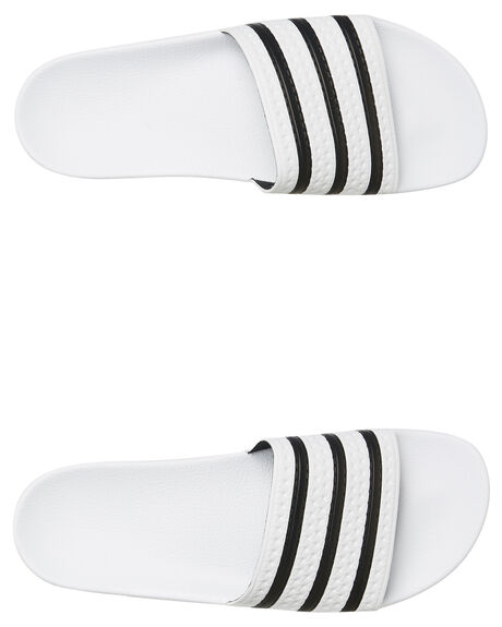 WHITE WOMENS FOOTWEAR ADIDAS SLIDES - SS280648WHIW