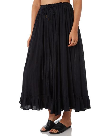 BLACK WOMENS CLOTHING TIGERLILY SKIRTS - T381278BLK