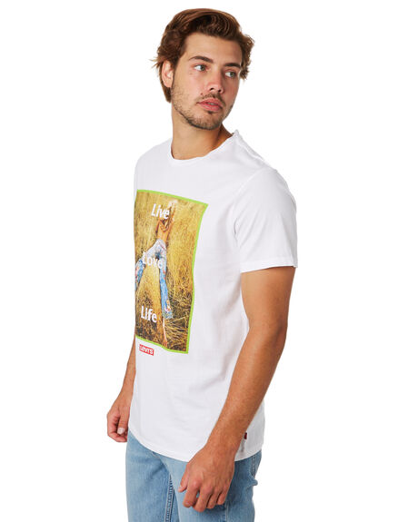 WHITE OUTLET MENS LEVI'S TEES - 22491-0603WHT