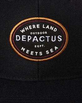 BLACK MENS ACCESSORIES DEPACTUS HEADWEAR - D51941613BLACK