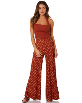 RUST WOMENS CLOTHING TIGERLILY PANTS - T393370RUS