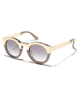 TRANSPARENT GREY WOMENS ACCESSORIES SUNDAY SOMEWHERE SUNGLASSES - SUN016-TGR-SUNTGRY