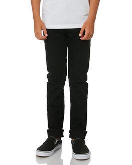 OVERDYED BLACK KIDS BOYS LEVI'S PANTS - 42839-0212OVRBL
