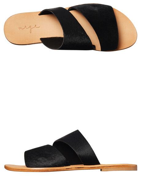 BLACK WOMENS FOOTWEAR URGE FASHION SANDALS - URG17063BLK