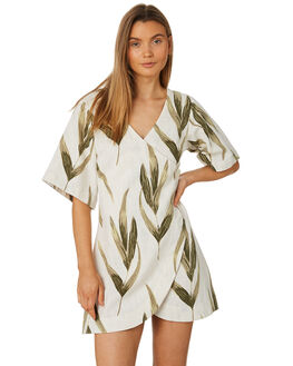 PRINT WOMENS CLOTHING ZULU AND ZEPHYR DRESSES - ZZ2336PRT