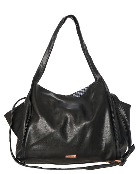 BLACK WOMENS ACCESSORIES RUSTY BAGS - BFL0973BLK
