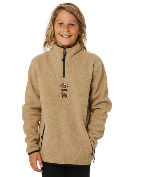 KHAKI KIDS BOYS RIP CURL JUMPERS + JACKETS - KFEPT10064