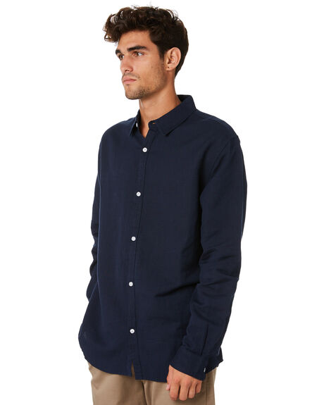 NAVY MENS CLOTHING SWELL SHIRTS - S5201170NAVY