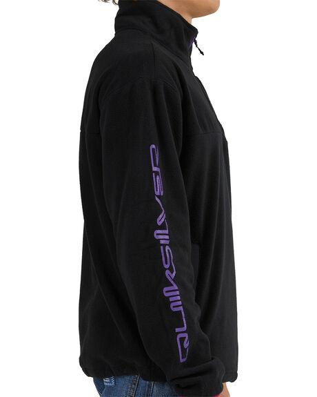 BLACK MENS CLOTHING QUIKSILVER JUMPERS - EQYFT04409-KVD0