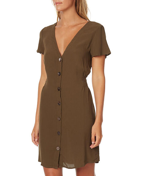 PLAIN WOMENS CLOTHING SWELL DRESSES - S8161455PLN