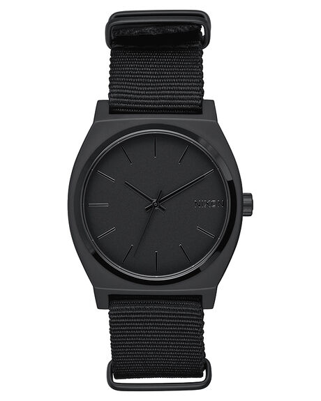 ALL MATTE BLACK MENS ACCESSORIES NIXON WATCHES - A0451028