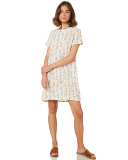 CREAM PRINT WOMENS CLOTHING ALL ABOUT EVE DRESSES - 6423079PRNT