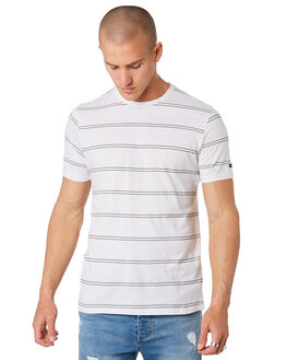 WHITE MENS CLOTHING RIP CURL TEES - CTESA21000