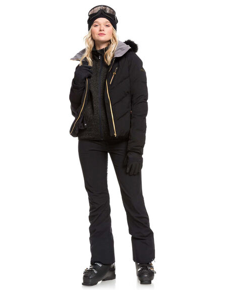 TRUE BLACK BOARDSPORTS SNOW ROXY WOMENS - ERJTP03085-KVJ0