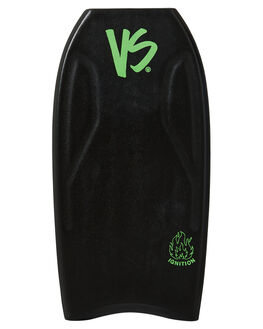 BLACK FLURO GREEN BOARDSPORTS SURF VS BODYBOARDS BOARDS - V19IGNITE41BLBLKFG