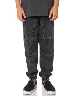 BLACK KIDS BOYS ST GOLIATH PANTS - 2402056BLK